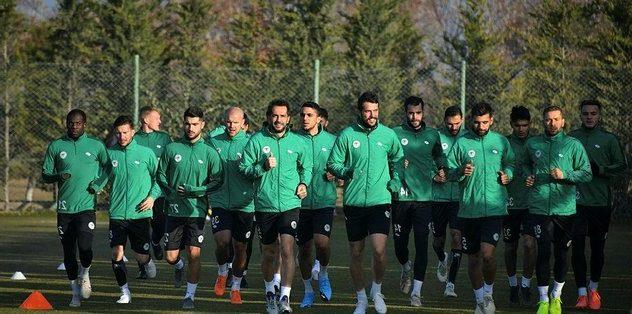 Konyaspor Antrenman